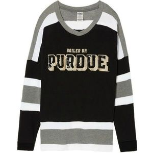 Victoria Secret Purdue University Bling PullOver